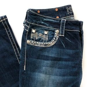 Miss Me Bootcut Jeans Embellished Size 27